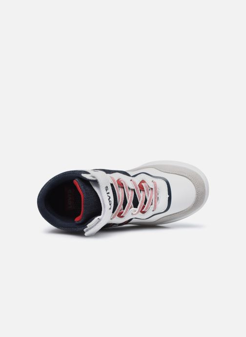 Sneakers Levi's Irving Mid Bianco immagine sinistra