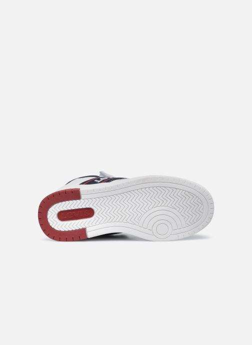 Sneakers Levi's Irving Mid Bianco immagine dall'alto