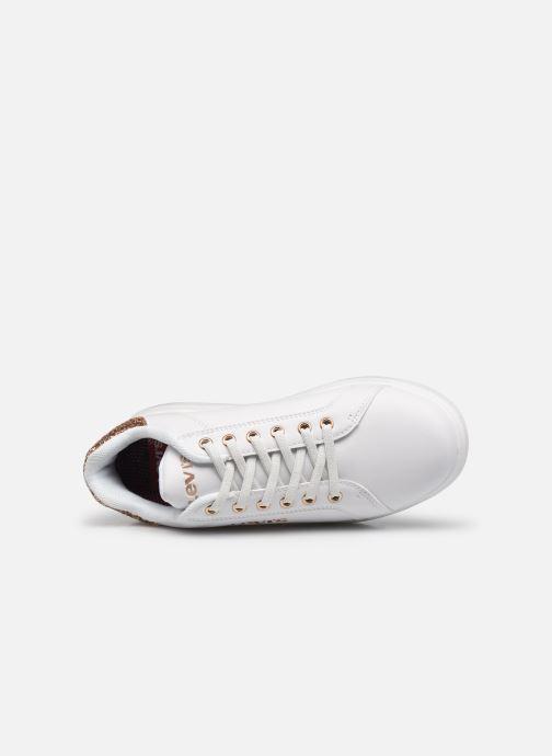 Sneakers Levi's Ellis Bianco immagine sinistra