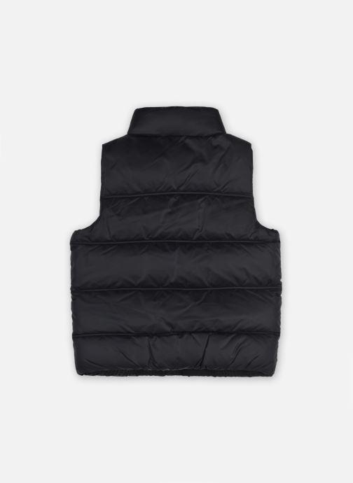 Vêtements Tommy Hilfiger Solid Vest Noir vue portées chaussures
