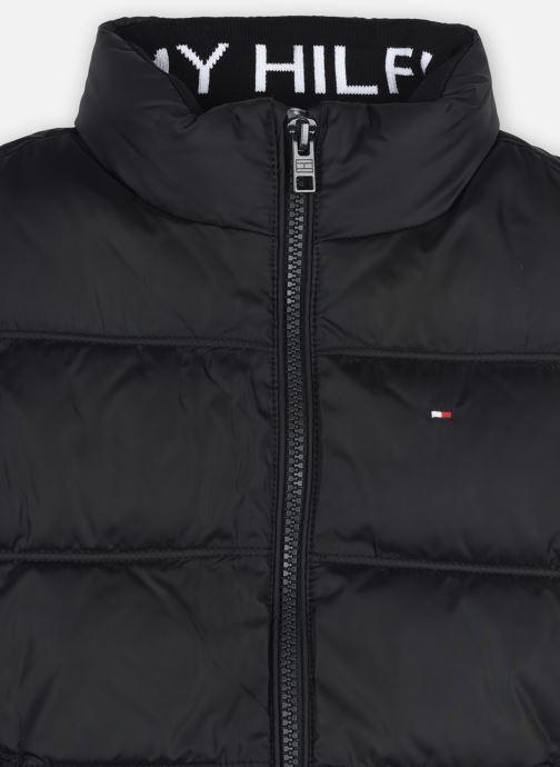 Vêtements Tommy Hilfiger Solid Vest Noir vue face