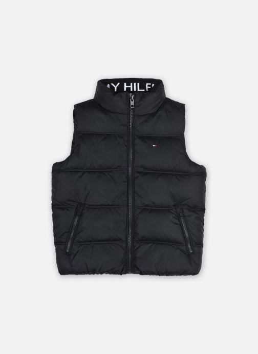 Vêtements Tommy Hilfiger Solid Vest Noir vue détail/paire