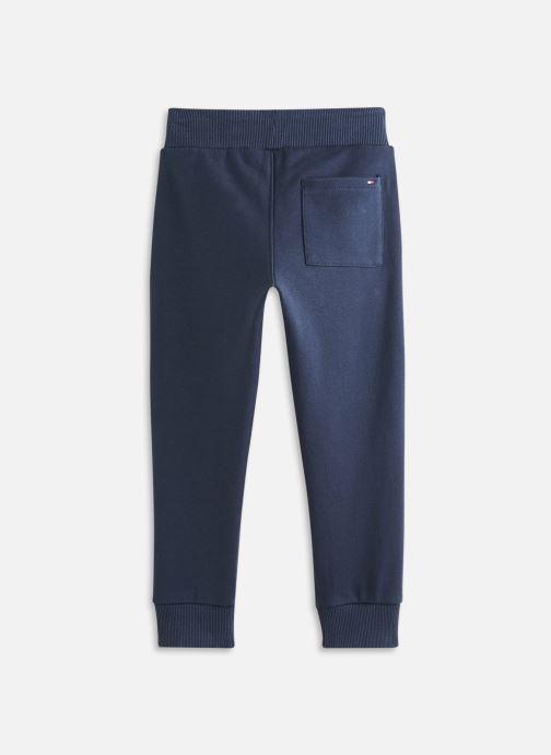 Vêtements Tommy Hilfiger Th Logo Sweatpants Bleu vue bas / vue portée sac