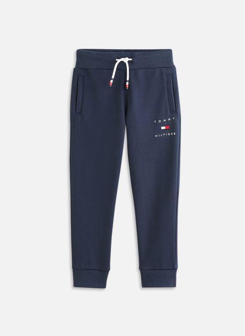 Vêtements Tommy Hilfiger Th Logo Sweatpants Bleu vue détail/paire