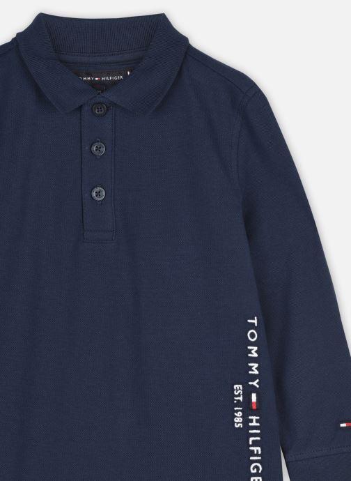 Vêtements Tommy Hilfiger Essential Established Polo L/S Bleu vue face