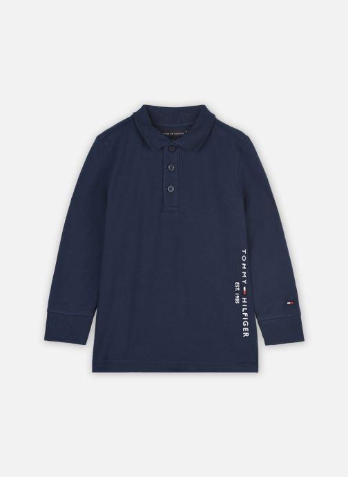 Vêtements Tommy Hilfiger Essential Established Polo L/S Bleu vue détail/paire