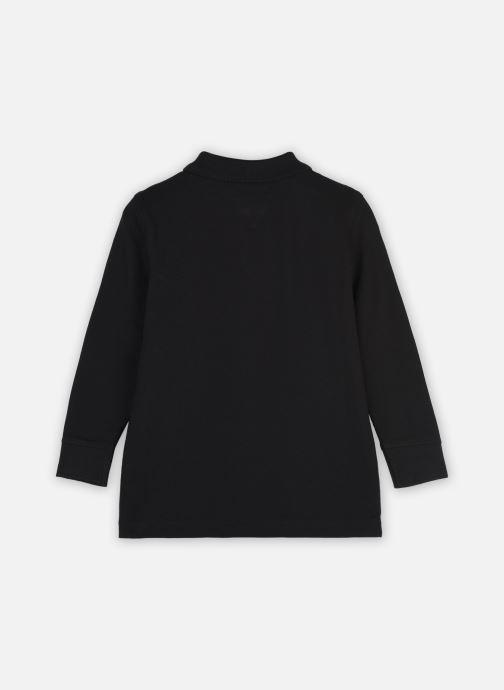Vêtements Tommy Hilfiger Essential Established Polo L/S Noir vue portées chaussures