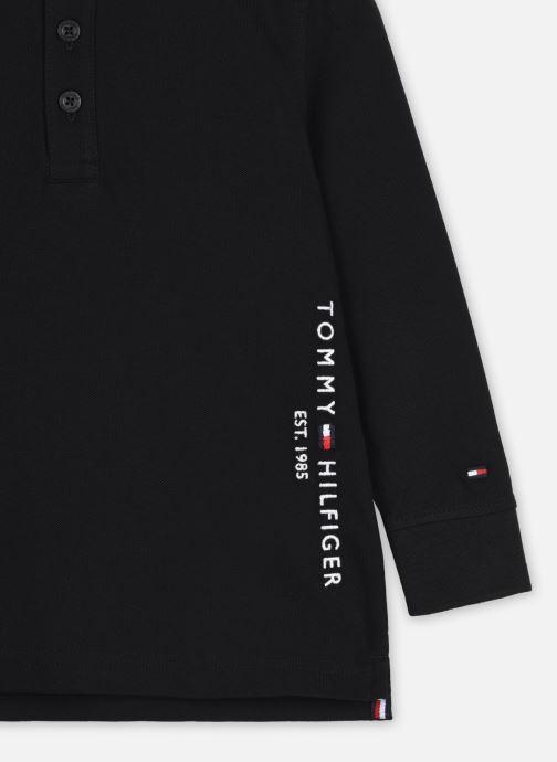 Vêtements Tommy Hilfiger Essential Established Polo L/S Noir vue face