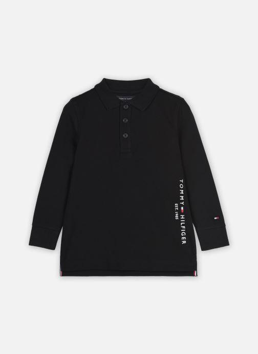 Vêtements Tommy Hilfiger Essential Established Polo L/S Noir vue détail/paire