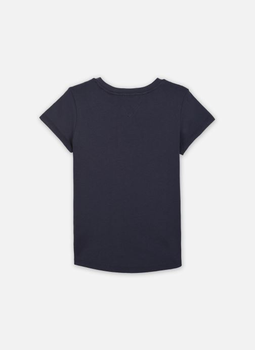 Vêtements Tommy Hilfiger Essential Tee S/S Bleu vue portées chaussures