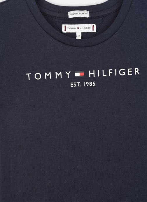 Vêtements Tommy Hilfiger Essential Tee S/S Bleu vue face
