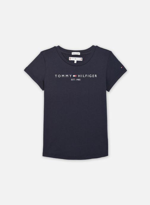 Vêtements Tommy Hilfiger Essential Tee S/S Bleu vue détail/paire
