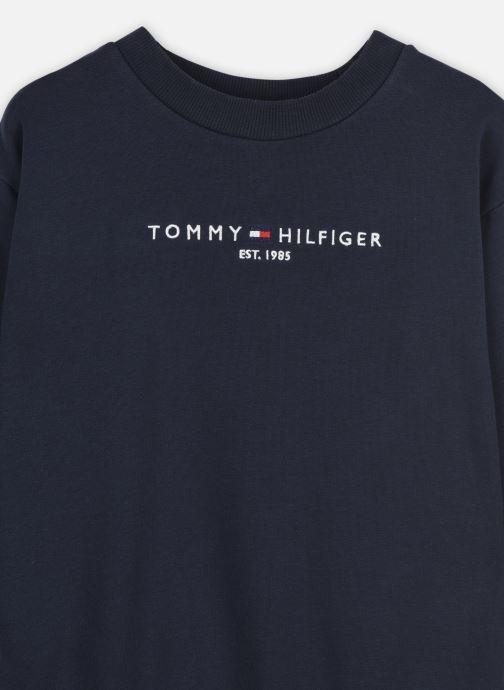 Vêtements Tommy Hilfiger Essential Sweat Dress L/S Bleu vue face