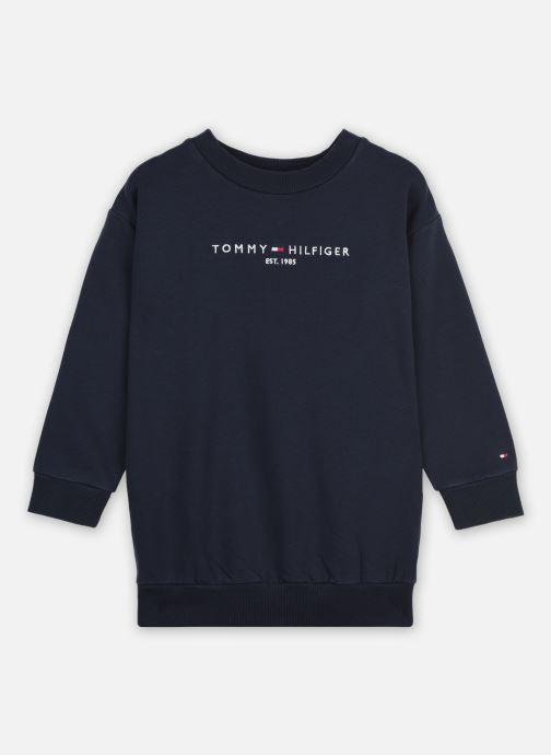 Vêtements Tommy Hilfiger Essential Sweat Dress L/S Bleu vue détail/paire