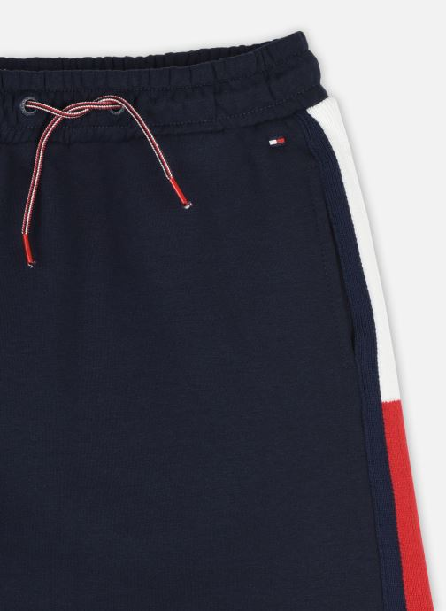 Vêtements Tommy Hilfiger Rib Insert Skirt Bleu vue face