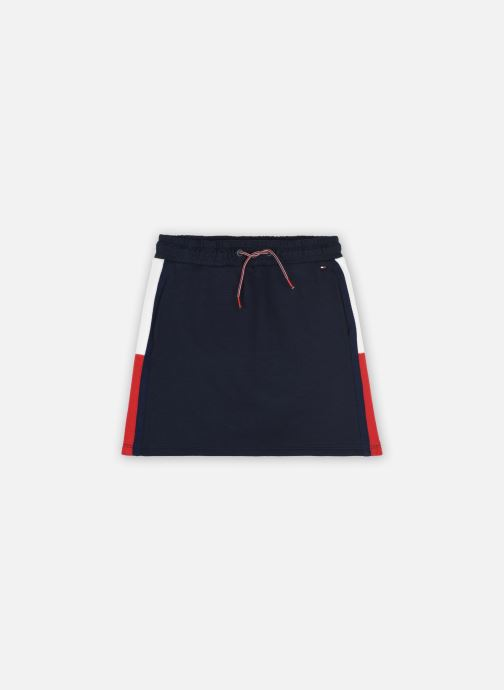Vêtements Tommy Hilfiger Rib Insert Skirt Bleu vue détail/paire