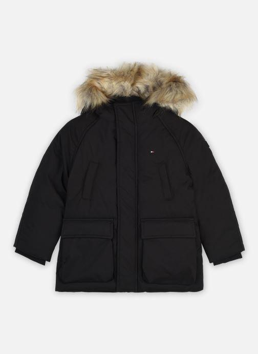 Vêtements Tommy Hilfiger Tech Parka Noir vue détail/paire