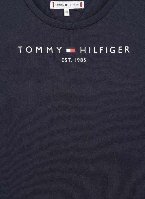 Vêtements Tommy Hilfiger Essential Tee L/S Bleu vue face