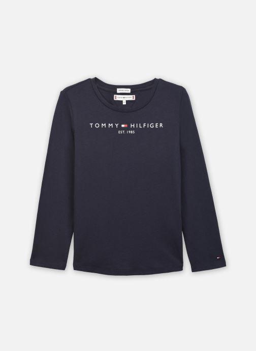 Vêtements Tommy Hilfiger Essential Tee L/S Bleu vue détail/paire