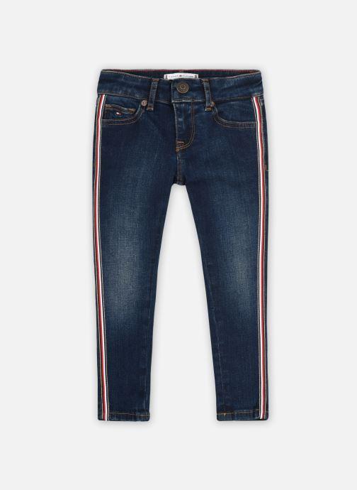 Vêtements Tommy Hilfiger Sylvia Hr Skinny Dkcbswatredlx Bleu vue détail/paire