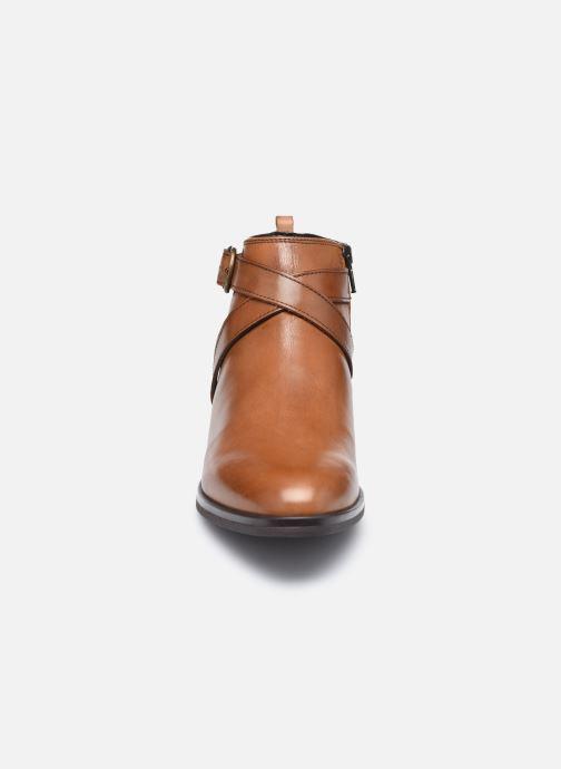 Bottines et boots Georgia Rose Amélie Marron vue portées chaussures