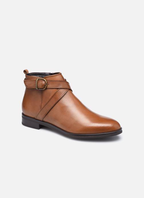 Bottines et boots Georgia Rose Amélie Marron vue détail/paire