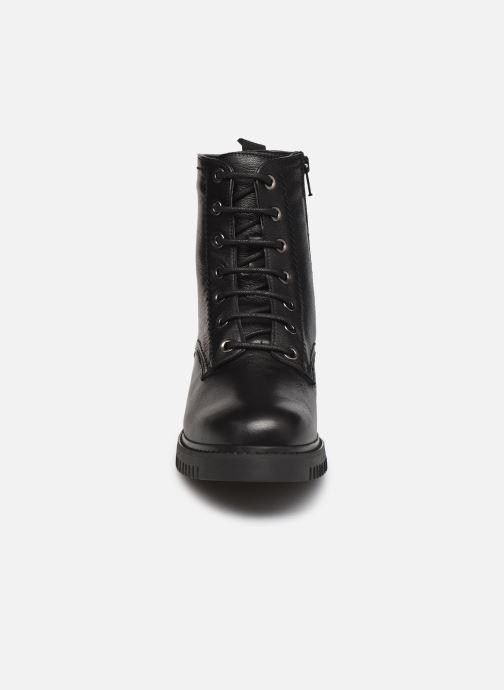 Bottines et boots Georgia Rose Adèle Noir vue portées chaussures