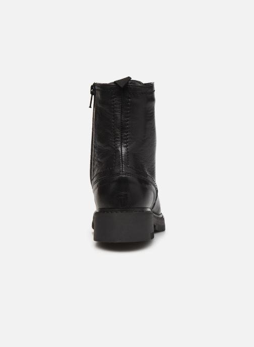 Bottines et boots Georgia Rose Adèle Noir vue droite
