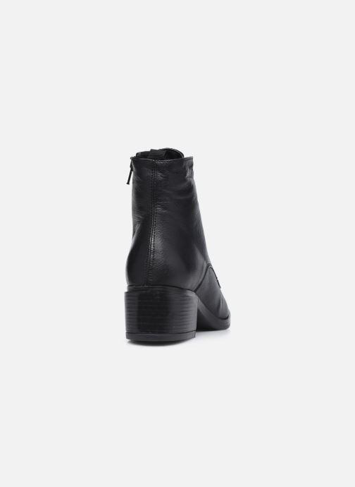 Bottines et boots Georgia Rose Maelys Noir vue droite