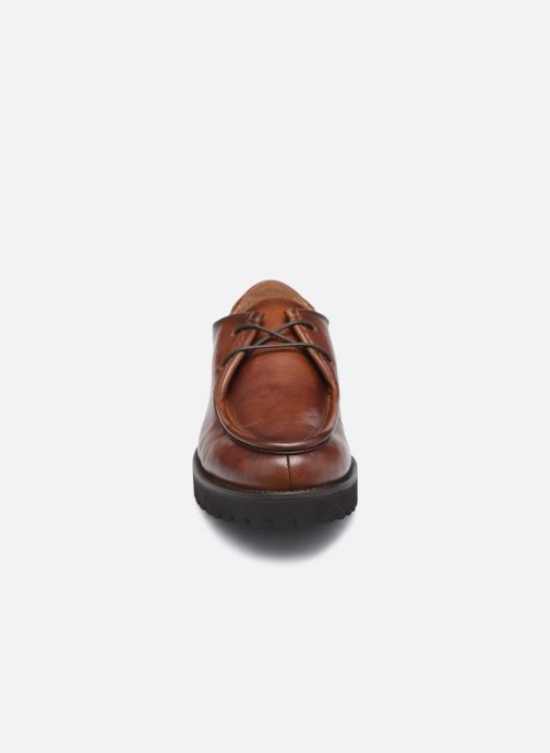 Chaussures à lacets Georgia Rose Maude Marron vue portées chaussures