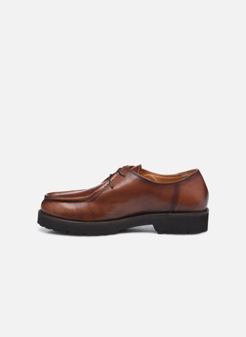 Chaussures à lacets Georgia Rose Maude Marron vue face