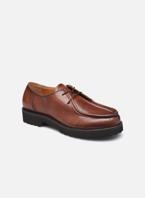 Chaussures à lacets Georgia Rose Maude Marron vue détail/paire