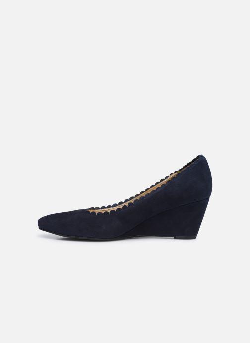 Zapatos de tacón Georgia Rose Soft Sylvia Azul vista de frente