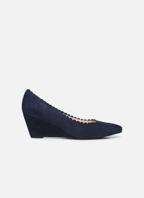 Zapatos de tacón Georgia Rose Soft Sylvia Azul vistra trasera