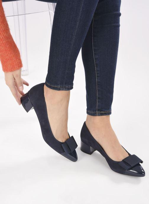 Zapatos de tacón Georgia Rose Soft Solenn Azul vista de abajo