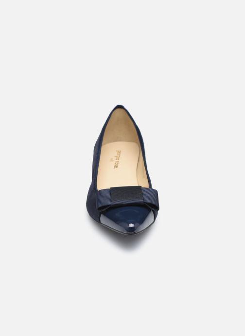 Zapatos de tacón Georgia Rose Soft Solenn Azul vista del modelo