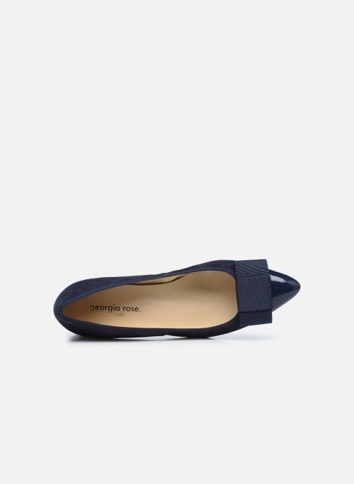 Zapatos de tacón Georgia Rose Soft Solenn Azul vista lateral izquierda