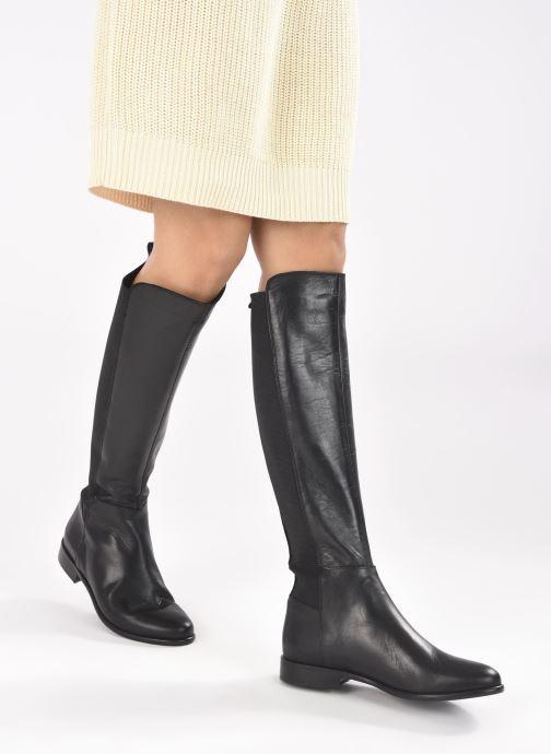 Stiefel Georgia Rose Shaya schwarz ansicht von unten / tasche getragen