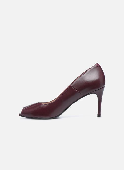 Zapatos de tacón Georgia Rose Sia Vino vista de frente