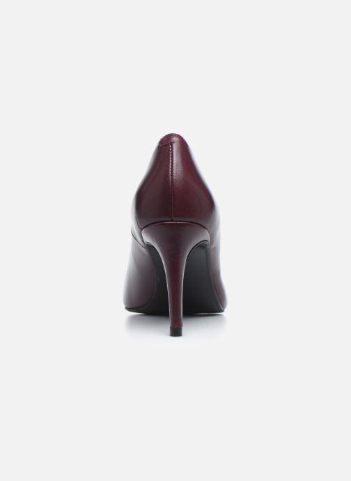 Zapatos de tacón Georgia Rose Sia Vino vista lateral derecha