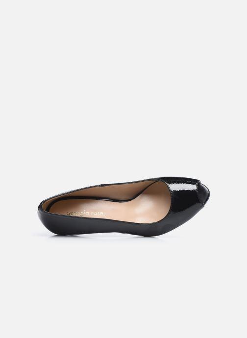 Zapatos de tacón Georgia Rose Sia Negro vista lateral izquierda