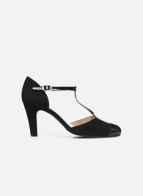 Zapatos de tacón Georgia Rose Sao Negro vistra trasera