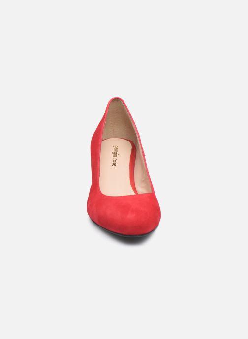 Zapatos de tacón Georgia Rose Safia Rojo vista del modelo