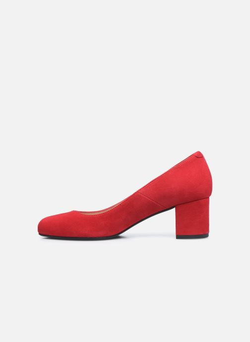 Zapatos de tacón Georgia Rose Safia Rojo vista de frente