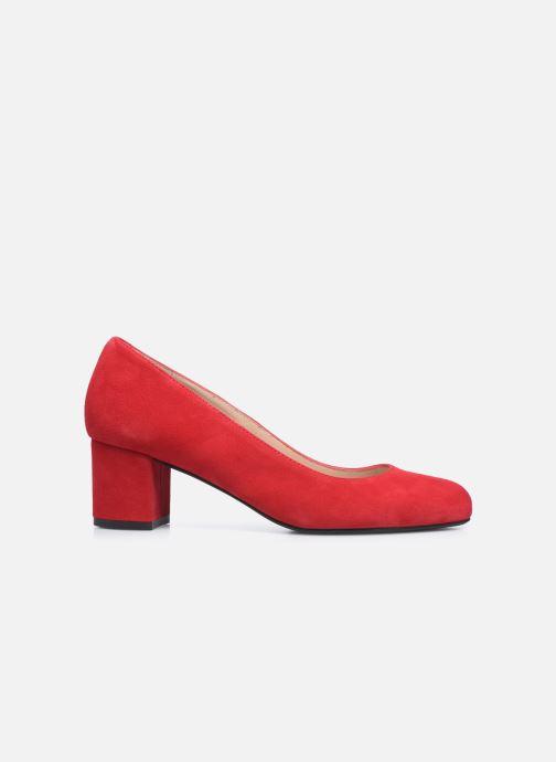 Zapatos de tacón Georgia Rose Safia Rojo vistra trasera