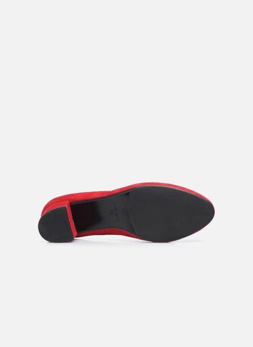 Zapatos de tacón Georgia Rose Safia Rojo vista de arriba