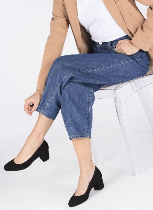 Zapatos de tacón Georgia Rose Safia Negro vista de abajo