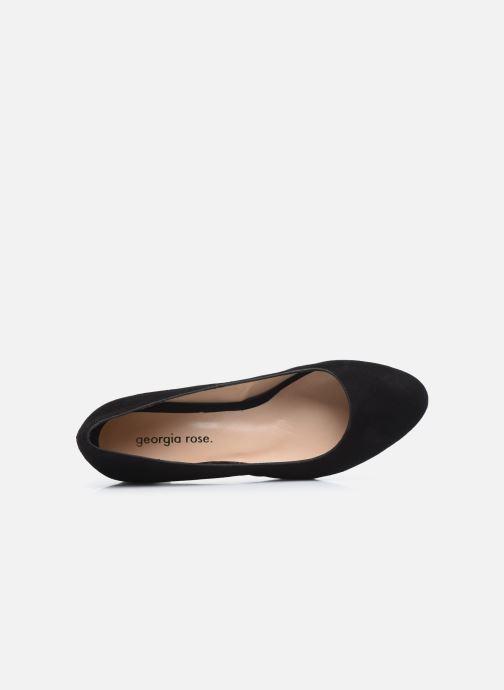 Zapatos de tacón Georgia Rose Safia Negro vista lateral izquierda
