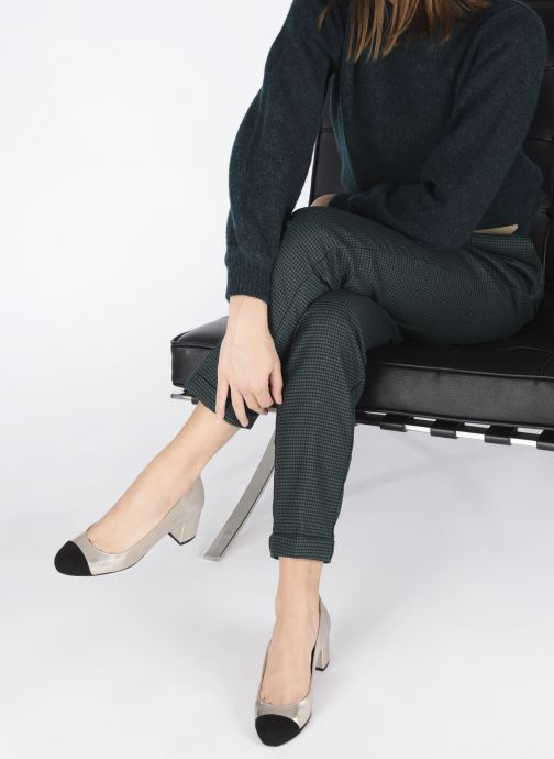 Zapatos de tacón Georgia Rose Selly Oro y bronce vista de abajo