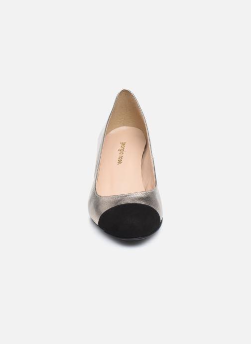 Zapatos de tacón Georgia Rose Selly Oro y bronce vista del modelo